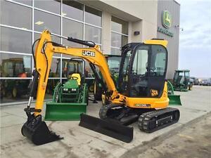 2016 JCB 8035 ZTS Mini Excavator Regina Regina Area image 1