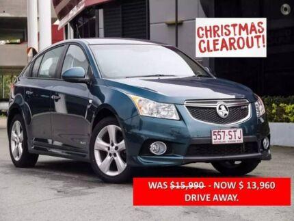2012 Holden Cruze JH Series II MY13 SRi-V Blue 6 Speed Sports Automatic Hatchback Aspley Brisbane North East Preview