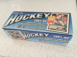 1991 92 OPC O-Pee-Chee Hockey Factory Set. Sealed!