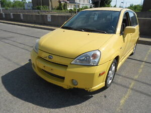 2003 Suzuki Aerio, Auto,Loaded-AWD; CERTIFIED & E-TESTED