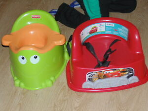 booster flash mcqueen et petit pot de grenouille
