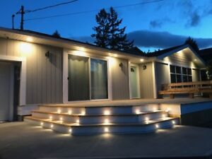 Furnished Qualicum house for rent