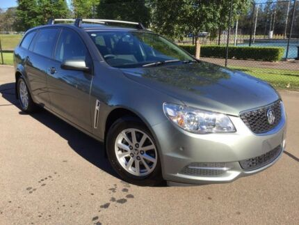 2013 Holden Commodore VF Evoke Prussian Steel Grey 6 Speed Automatic Sportswagon