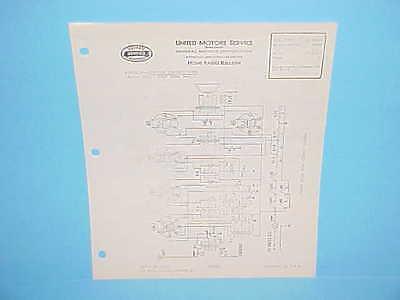 1934 UNITED MOTORS DELCO HOME RADIO SERVICE REPAIR MANUAL 32 VOLT DC MODEL 4054