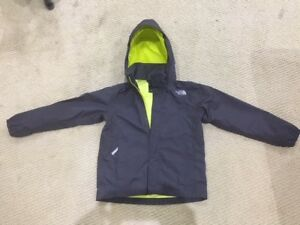 Kids / youth North Face waterproof jacket size 7/8