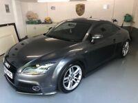 2013 (63 plate) Audi TT, S line Black edition, Quattro sport coupe, 2.0 Litre TDI Diesel