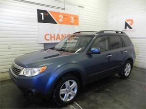 2010 Subaru Forester X Limited AWD, Toit ouvrant, Bancs en cuir