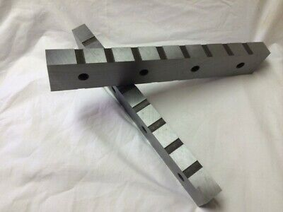 R E S Corp Set Of Model 1600 16 Alligator Shear Blades 4 Sided Steel Hardened