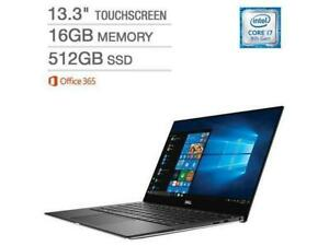 Dell XPS Laptop 13.3 INCH i7-8550U 16GB RAM 512GB SSD Win 10 XPS9370-7415SLV - WE SHIP EVERYWHERE IN CANADA - BESTCOST