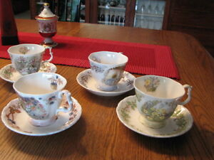 Royal Doulton Brambly Hedge teacups