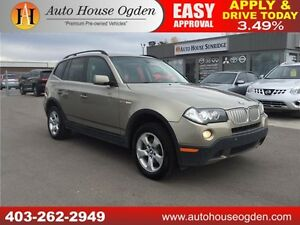 2007 BMW X3 3.0si LEATHER, ROOF, AWD