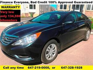 2012 Hyundai Sonata GL SEDAN FINANCE 100% APPROVED WARRANTY