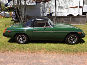 1980 MGB Convertable for sale
