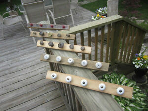 Necklace/chain jewelry rack