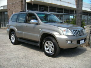 2005 Toyota Landcruiser Prado GRJ120R GXL (4x4) Bronze 5 Speed Automatic Wagon Wangara Wanneroo Area Preview