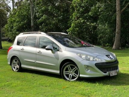 2011 Peugeot 308 T7 Sportium Silver 6 Speed Sports Automatic Hatchback