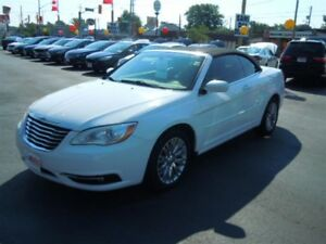 2012 CHRYSLER 200 TOURING CONVERTIBLE - HEATED POWER FRONT SEATS