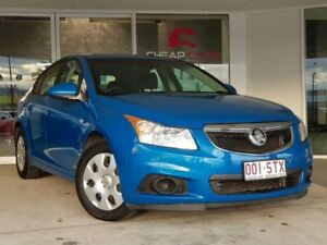 2012 Holden Cruze JH Series II MY12 CD Blue 6 Speed Sports Automatic Hatchback Brendale Pine Rivers Area Preview