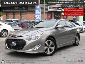 2011 Hyundai Sonata HYBRID! ACCIDENT FREE! ONE OWNER! NAVI!