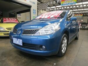 2008 Nissan Tiida C11 MY07 Q 6 Speed Manual Hatchback Mordialloc Kingston Area Preview