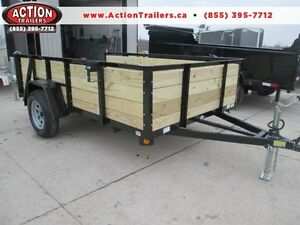 Ultimate all around utility trailer 6 x 10' w/ high sides $2089