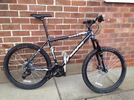 Muddy Fox Mountain bike 20 inch frame as new 27 gears