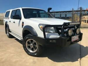 2009 Ford Ranger PK XL Crew Cab White 5 Speed Manual Utility Garbutt Townsville City Preview