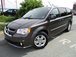 2015 Dodge GRAND CARAVAN Crew Plus (HEATED LEATHER SEATS & STEER