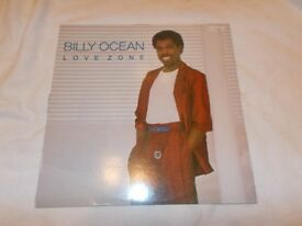 Vinyl LP Love Zone – Billy Ocean Jive HIP 35 Stereo 1986