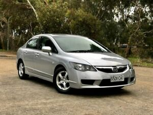 2010 Honda Civic 8th Gen MY10 Limited Edition Silver 5 Speed Automatic Sedan Mile End South West Torrens Area Preview