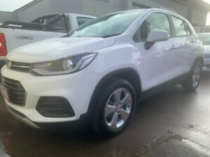 2019 Holden Trax TJ MY19 LS White 6 Speed Automatic Wagon Lilydale Yarra Ranges Preview