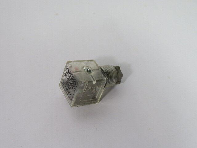 Peters GDA3R-24 Solenoid Connector 24 Vac/dc  USED