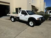 2005 Nissan Navara D22 DX (4x4) White 5 Speed Manual 4x4 Cab Chassis Maroochydore Maroochydore Area Preview