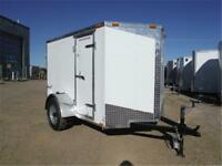 5 x 8 + Wedge Enclosed Cargo Trailer *TAX IN PRICES*