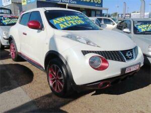 2013 Nissan Juke F15 MY14 ST-S Pearl White Manual Hatchback Minchinbury Blacktown Area Preview