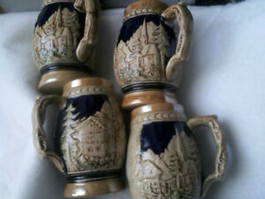 SET of Vintage Steins       COLLECTABLE London Ontario image 8