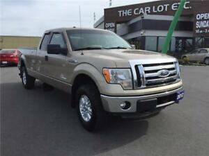 2012 Ford F-150 XLT 4x4 Super Cab 8 ft. box