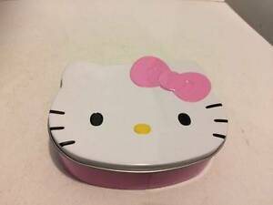 hello kitty tin and pencil case $2 each Paralowie Salisbury Area Preview