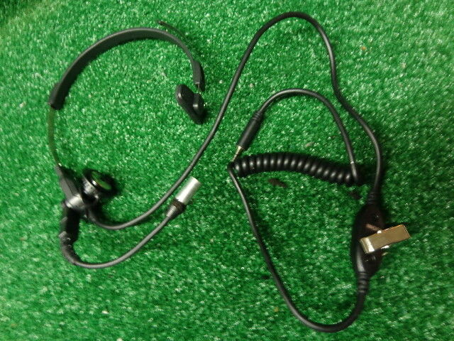 Motorola XTS5000 HT1000 MT2000 lightweight headset w/ boom mic and PTT NMN6245A
