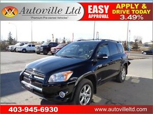 2010 Toyota RAV4 Limited Leather , cam Sunroof Everyone Approved