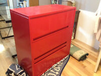 Three Drawer Lateral Filing Cabinet