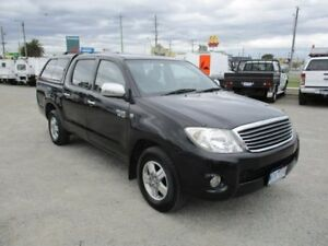 2008 Toyota Hilux Black Manual Utility