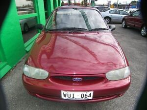 1999 Ford Festiva WF Trio Claret 5 Speed Manual Hatchback Nailsworth Prospect Area Preview