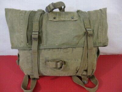post-WWII Era USMC Marine Corps M1941 Haversack OD Upper Combat Pack - NICE #1