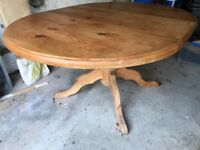 pine dining table good quality