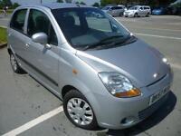 2007 Chevrolet Matiz 1.0 SE 5 door silver only 62899 miles shrewsbury