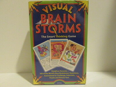 NEW Visual Brain Storms The Smart Thinking Game - THINKFUN -BRAIN TEASER - Thinkfun Brain Teaser