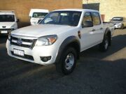2010 Ford Ranger PK XL (4x4) White 5 Speed Manual Dual Cab Pick-up Beaconsfield Fremantle Area Preview