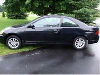 2002 Honda civic SI fully loaded,safety and e-test include 2990$