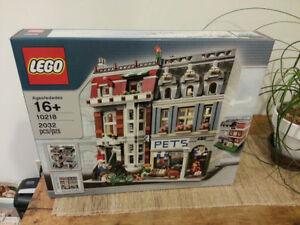 ** fresh brand new sealed LEGO 10218 PET SHOP Modular creator